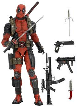 DEADPOOL ESCALA 1/4 FIGURA 45 CM MARVEL DEADPOOL