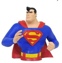SUPERMAN BUSTO HUCHA 18 CM SUPERMAN THE ANIMATED S