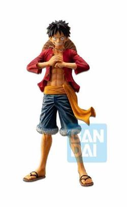 MONKEY D LUFFY FIGURA 28 CM ONE PIECE THE BOND OF BROTHERS ICHIBANSHO FIGURE