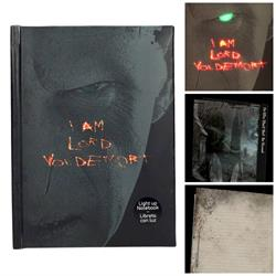 LORD VOLDEMORT LIBRETA CON LUZ HARRY POTTER