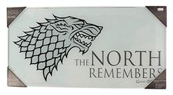 THE NORTH REMEMBERS POSTER DE VIDRIO GAME OF THRON