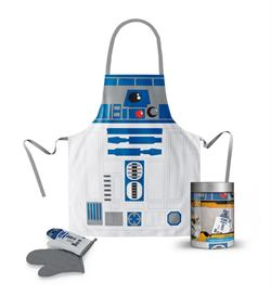 R2-D2 DELANTAL Y MANOPLA STAR WARS