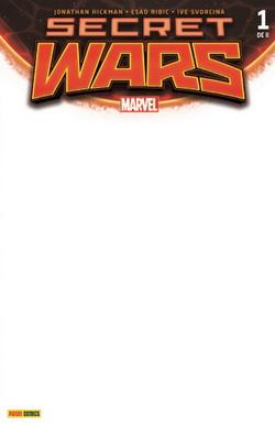 SECRET WARS 01 DE 09 (EDICION BLANCA)