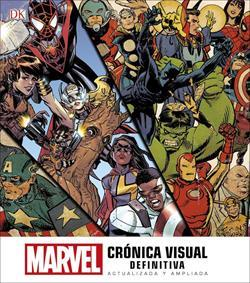 MARVEL. CRONICA VISUAL DEFINITIVA