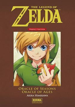 THE LEGEN OF ZELDA PERFECT EDITION: ORACLE OF SEASONS Y ORACLE OF AGES
