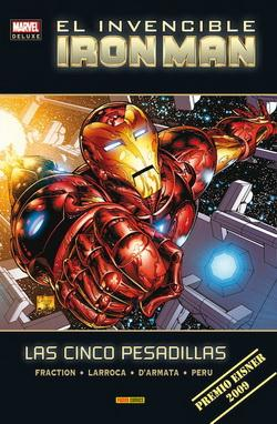 EL INVENCIBLE IRON MAN. LAS CINCO PESADILLAS