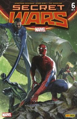 SECRET WARS 06 DE 09 (PORTADA ALTERNATIVA)