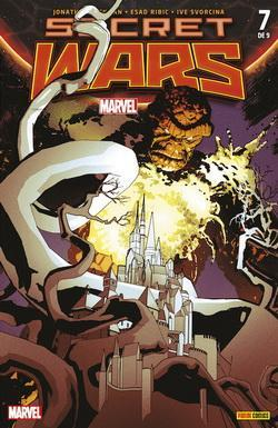 SECRET WARS 07 DE 09 (PORTADA ALTERNATIVA)