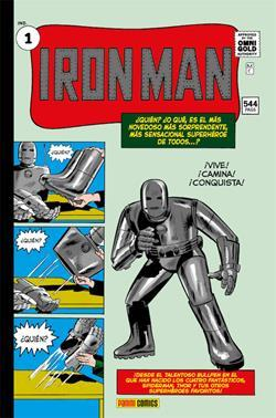 IRON MAN 01: NACE IRON MAN (MARVEL GOLD)