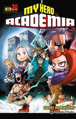 MY HERO ACADEMIA Nº20